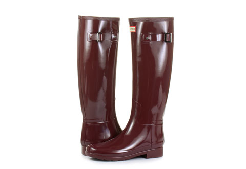Hunter Rain Boots W Org Refined Gloss