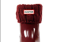Hunter-Șosete-6 Stitch Cable Boot Sock - Short