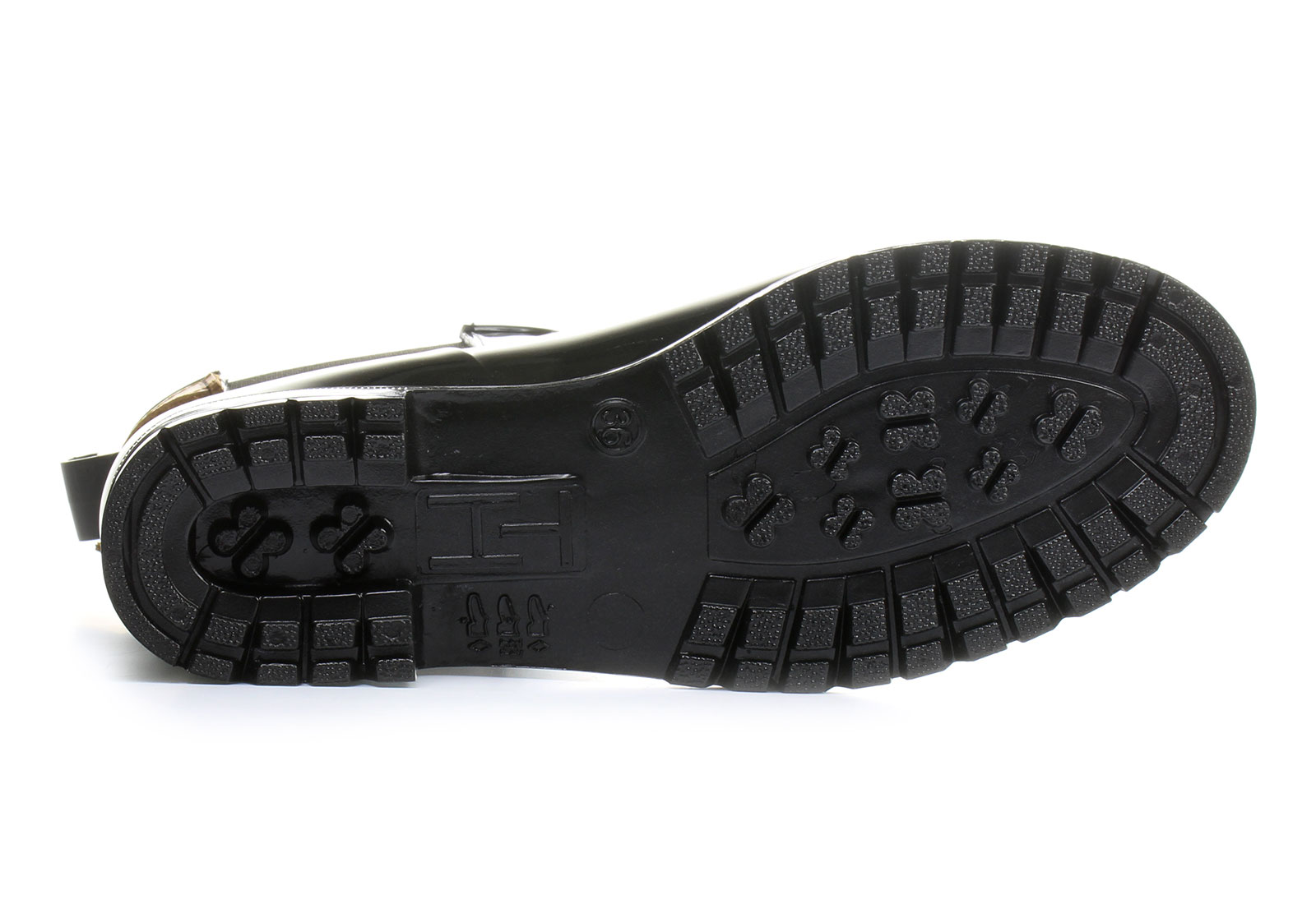 591ce38f90 Tommy Hilfiger Gumene Crna Čizme - Oxley - Office Shoes - Online ...