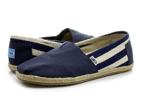 Toms Slip-on Alpargata Classic Stripe