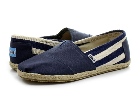 Toms Slip-on Alpargata Classic Stripe