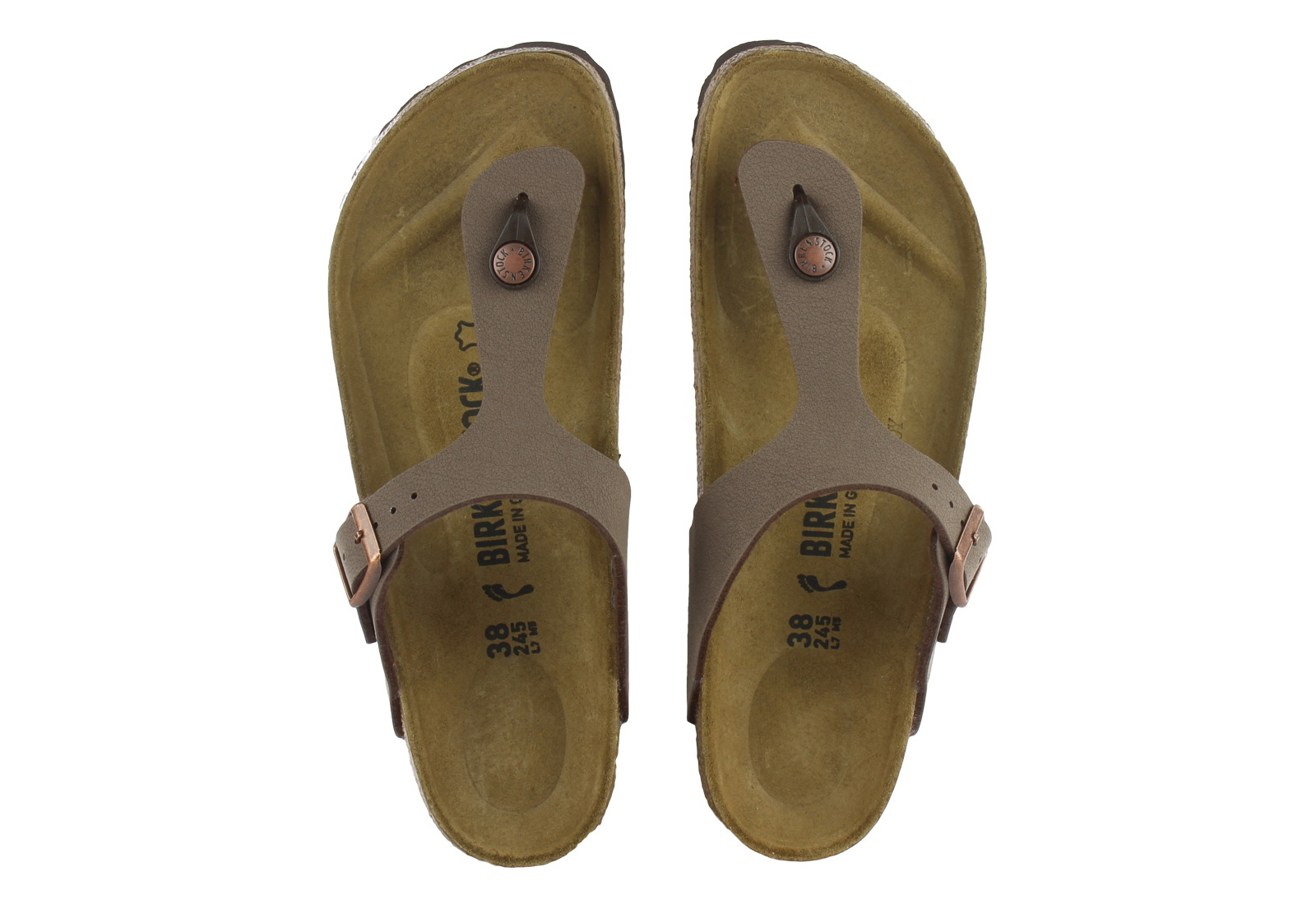 Birkenstock Slippers - Gizeh - 043753-moc - Online shop for sneakers, shoes and boots