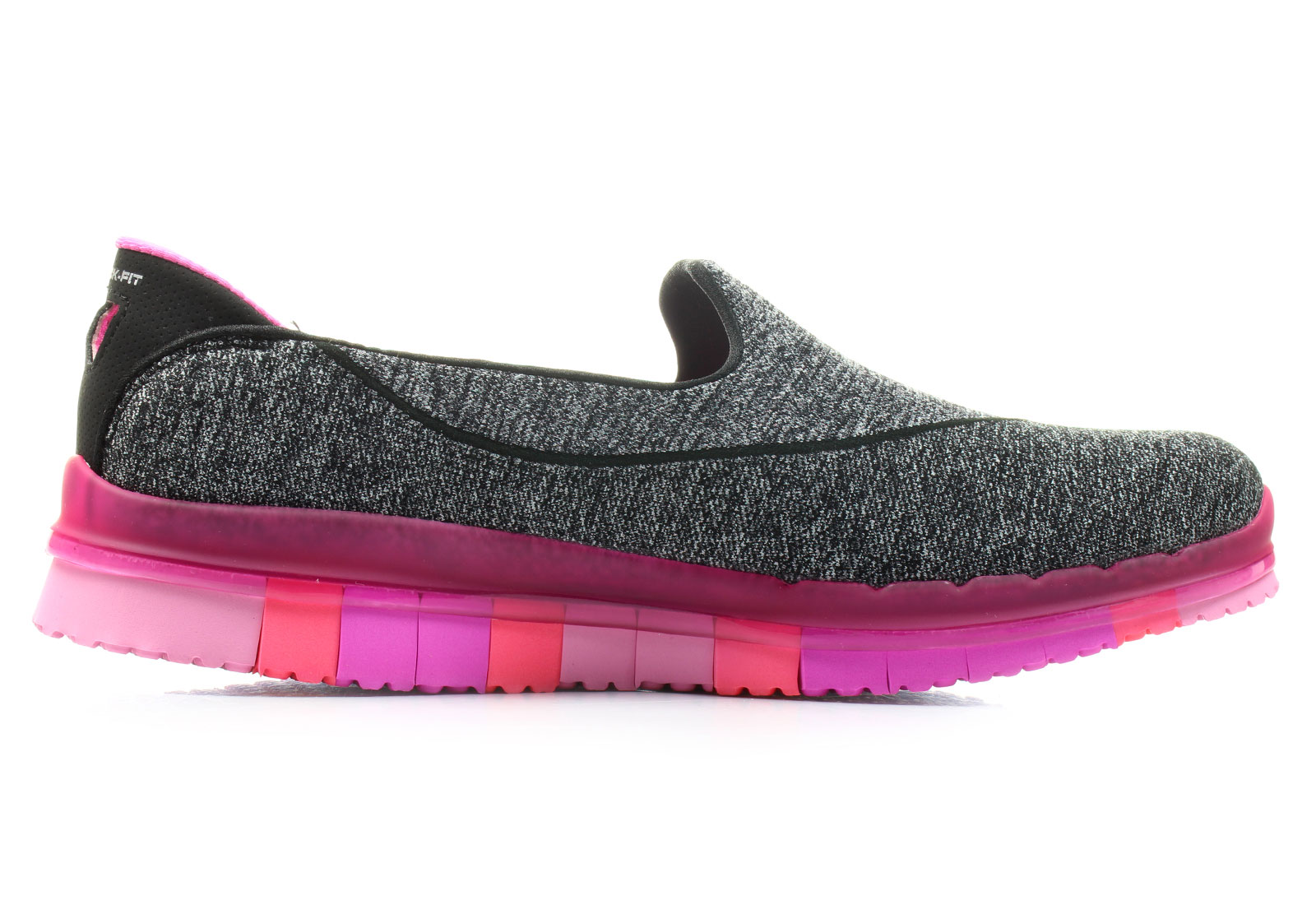 Skechers Nízké boty - Go Flex Walk - 14010-BKHPTenisky c3e1bb7b18