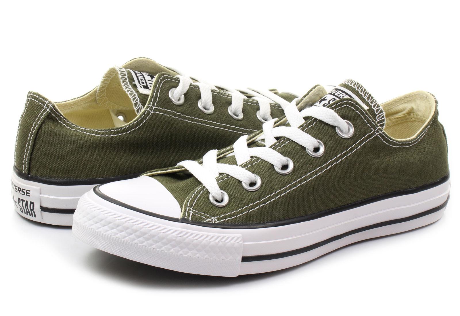 Converse Niske Tenisice Zelene Tenisice - Chuck Taylor All Star Seasonal Ox  - Office Shoes - Online trgovina obuće a8fe0b4b552