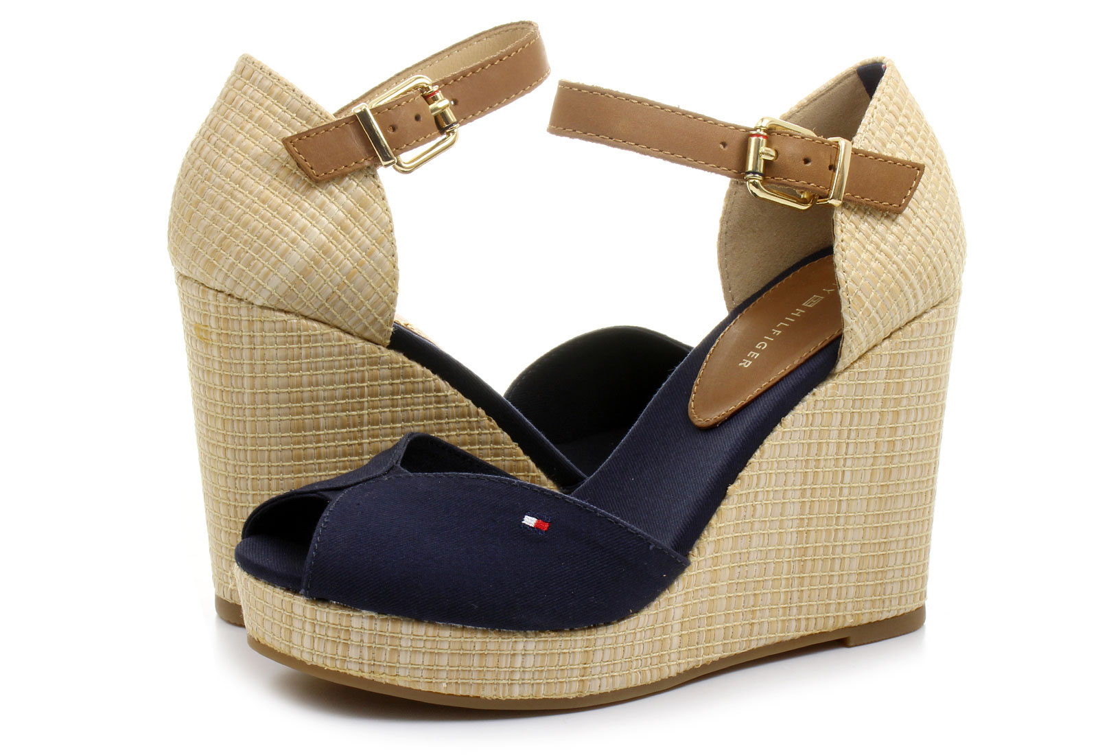 aadb976138 Tommy Hilfiger Platforma Plave Sandale - Elena 11d - Office Shoes ...