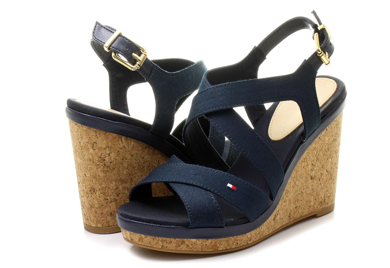 tommy hilfiger platforma plave sandale elena 8d office shoes online  trgovina obu e 4b3dec93e3
