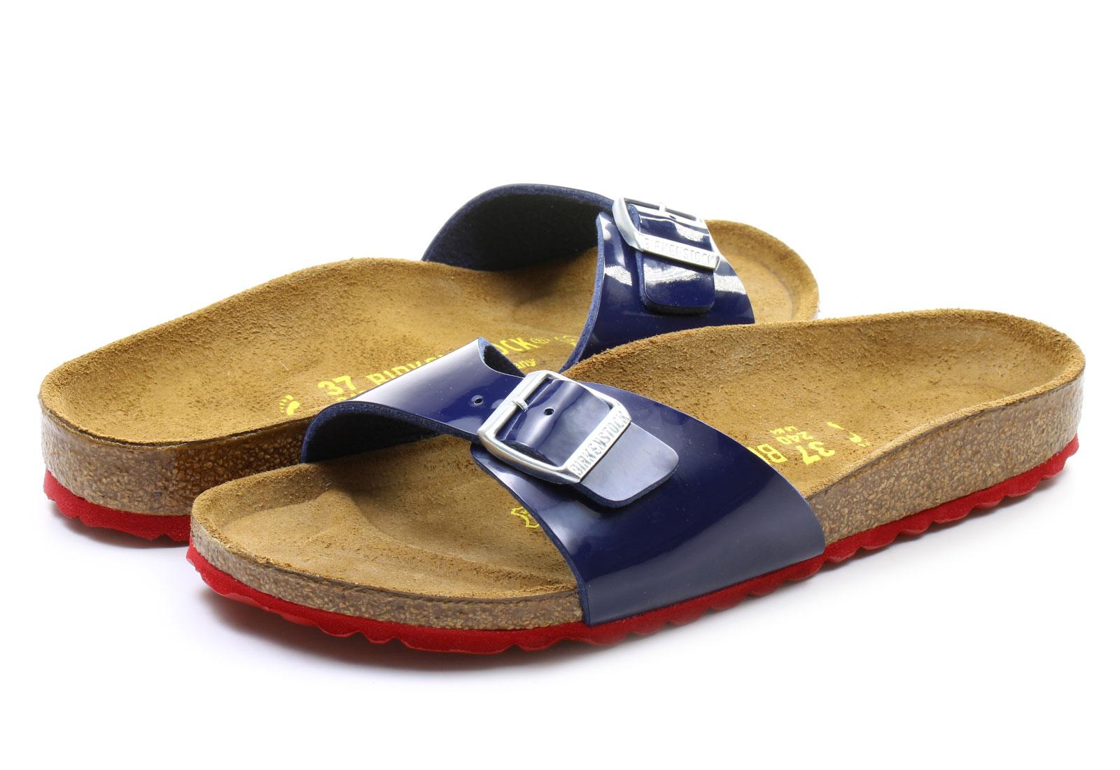 birkenstock slippers madrid papucs 339263 blu online. Black Bedroom Furniture Sets. Home Design Ideas