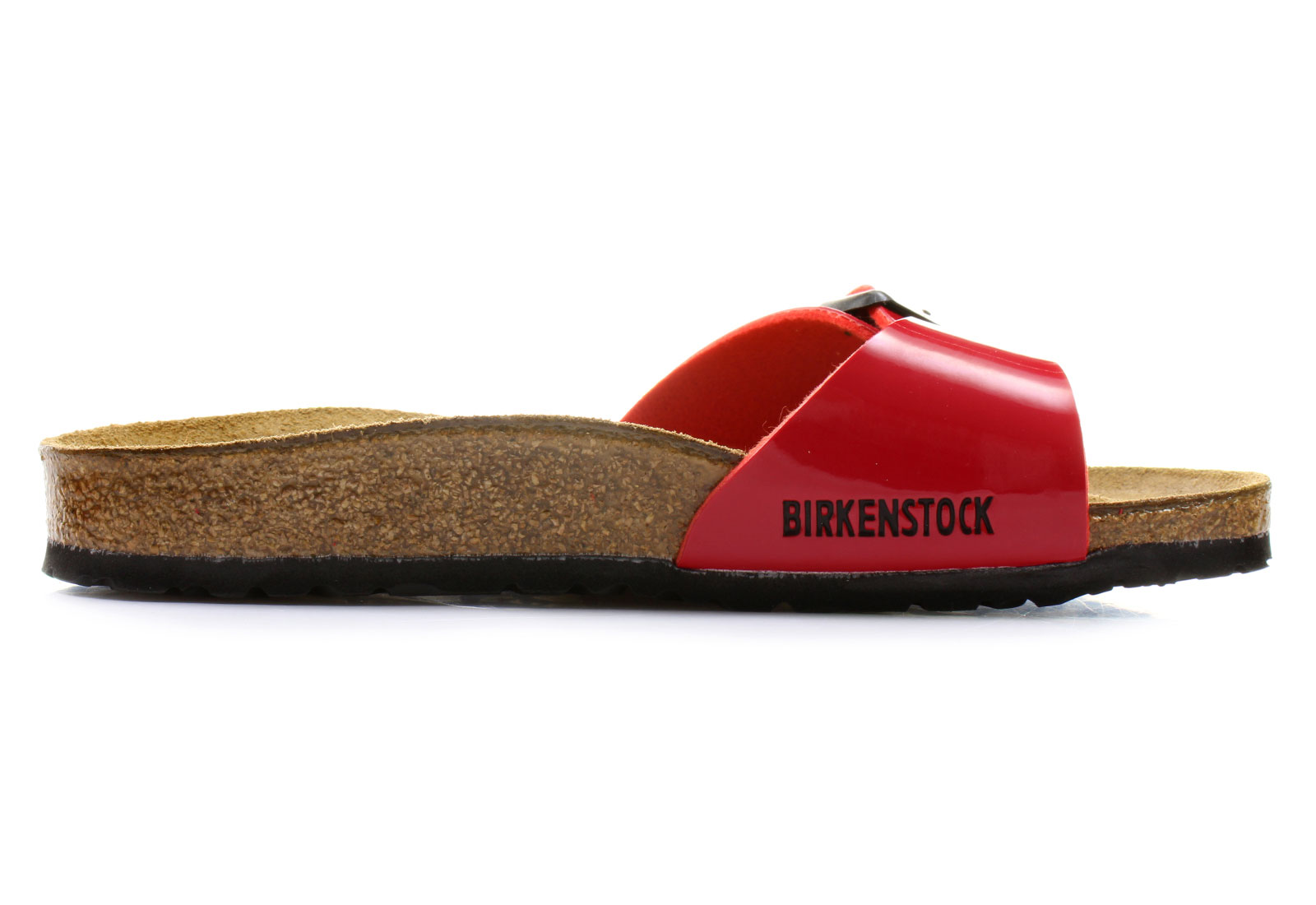 Birkenstock Papucs - Madrid - Narrow - 340113-red - Office Shoes ... 2d27a06552