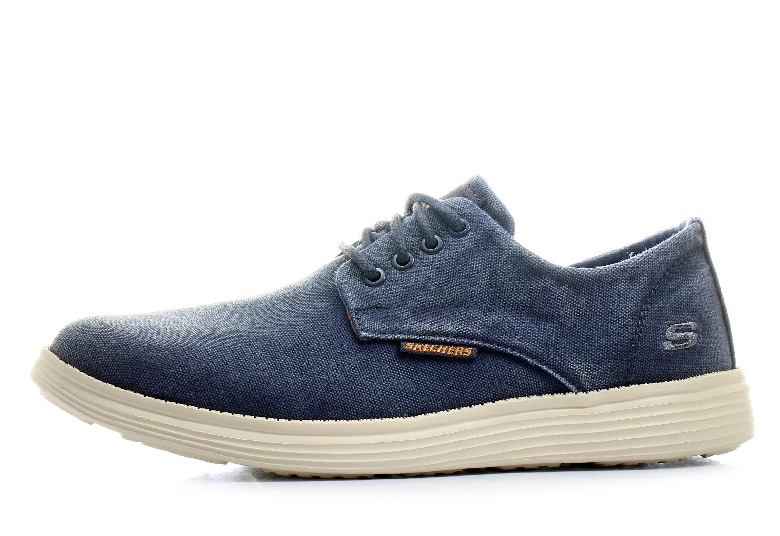 Skechers Shoes Status Borges 64629 Nvy Online Shop