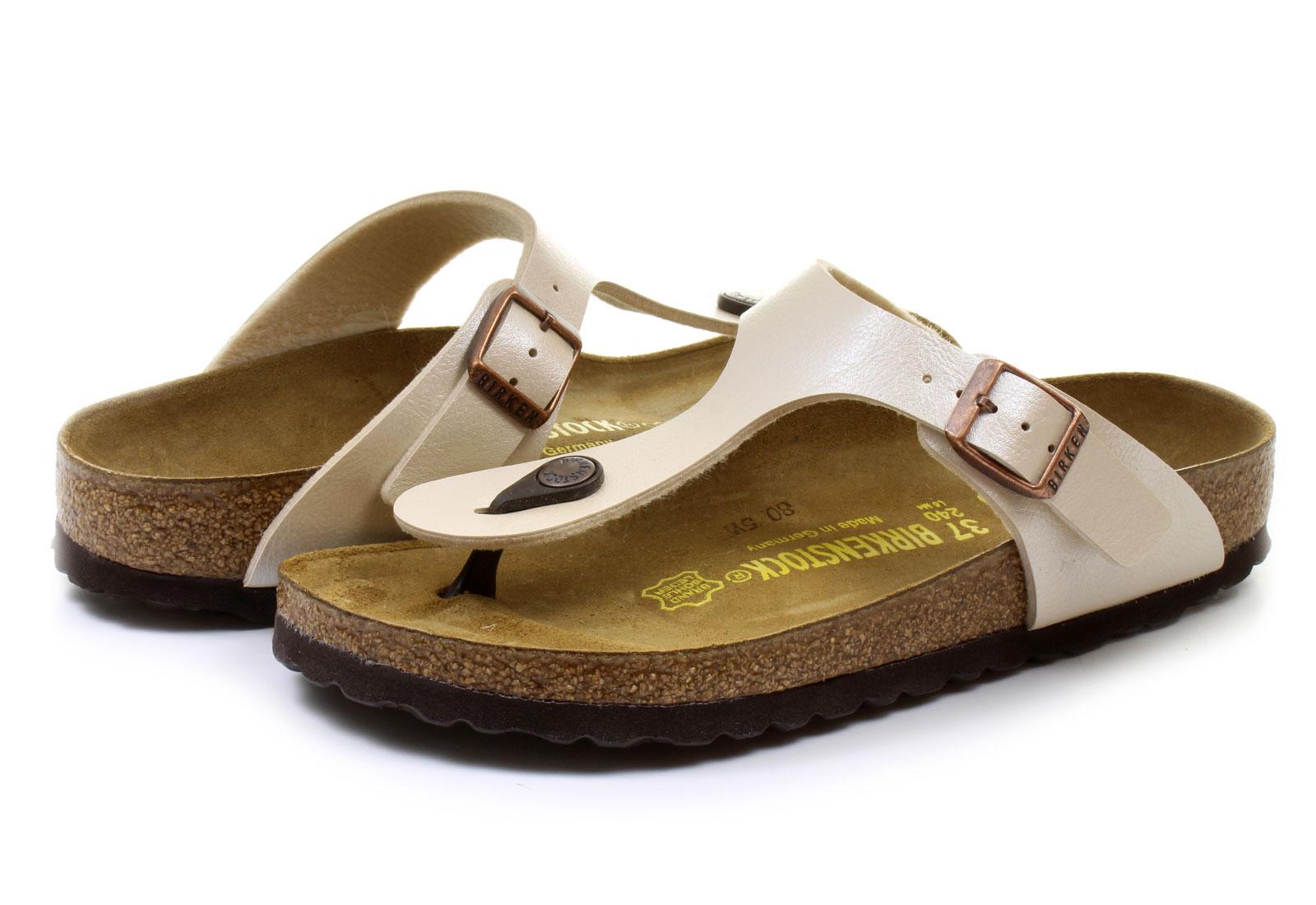 a10d791c5f Birkenstock Papucs - Gizeh - 943873-wht - Office Shoes Magyarország