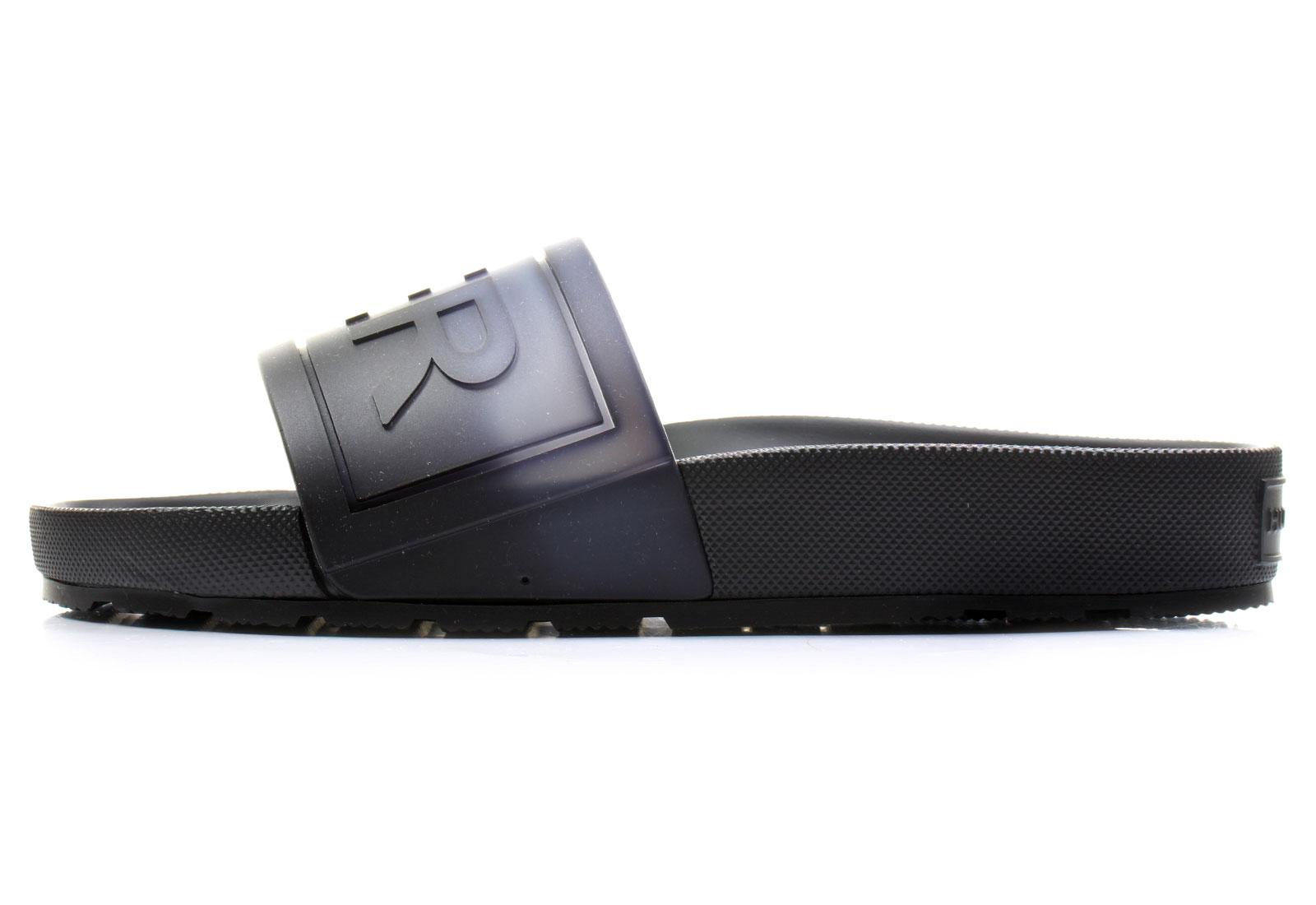 Hunter Slippers - D4016eom - D4016EOM-BWT - Online shop for sneakers ... c6d005fcdf