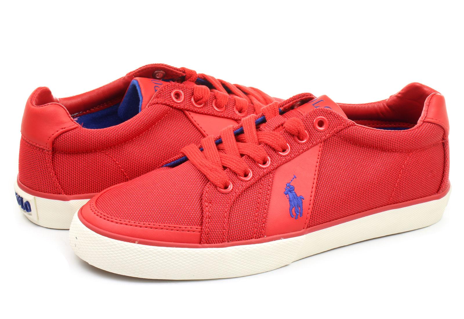 Mens Pink Polo Ralph Lauren Shoes