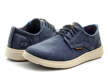 Skechers Pantofi Status Borges 64629 nvy Office Shoes Romania