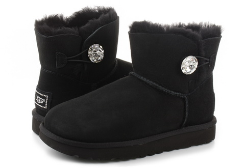 Ugg Cizme Mini Bailey Button Bling