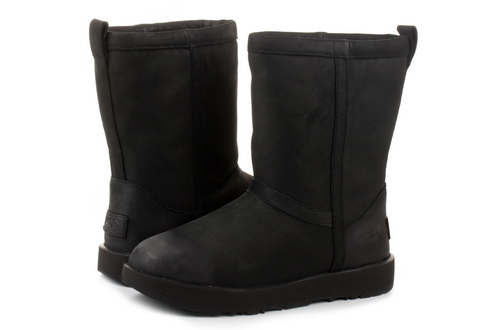 Ugg Vysoké Boty Classic Short Leather Waterproof