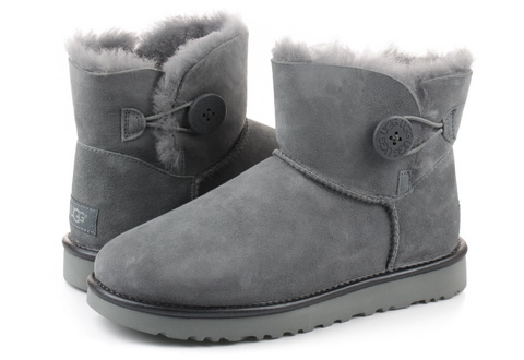 Ugg Csizma Mini Bailey Button Ii Metallic