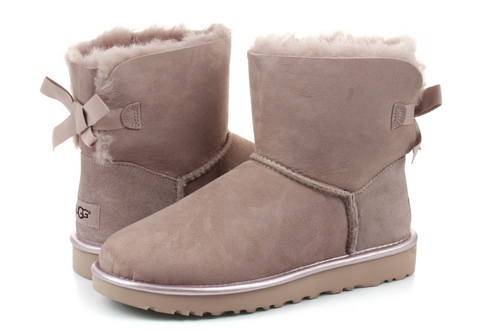 Ugg Wysokie Buty Mini Bailey Bow Ii Metallic