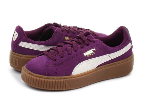 Puma Shoes Suede Platform Snake Jr