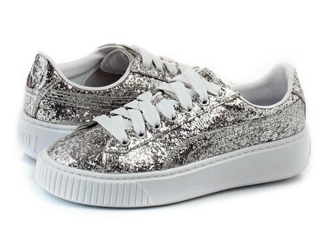 Puma Cipő Basket Platform Glitter Wns