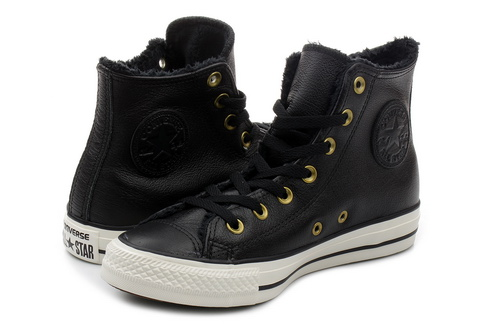 Converse Duboke Patike Ct As Leather & Fur