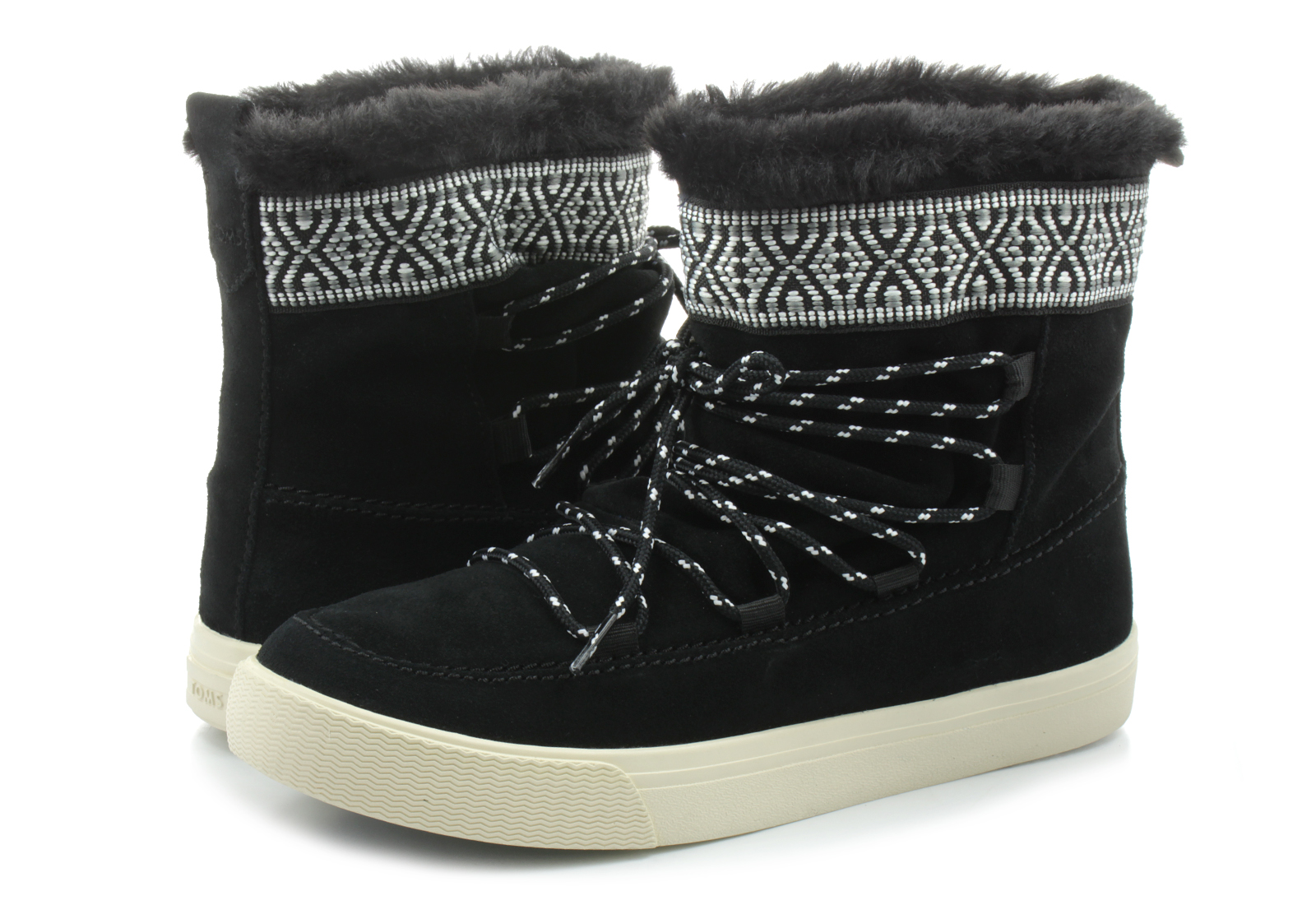 toms boots alpine boot 10010903 blk shop for