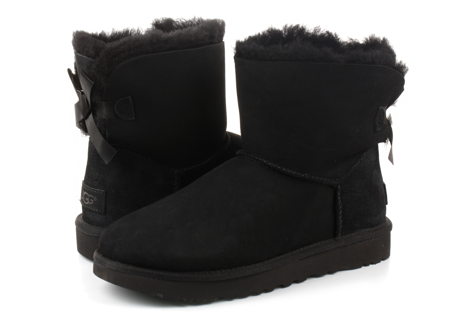 29f3c98c3 Ugg Boots - Mini Bailey Bow Ii - 1016501-BLK - Online shop for ...