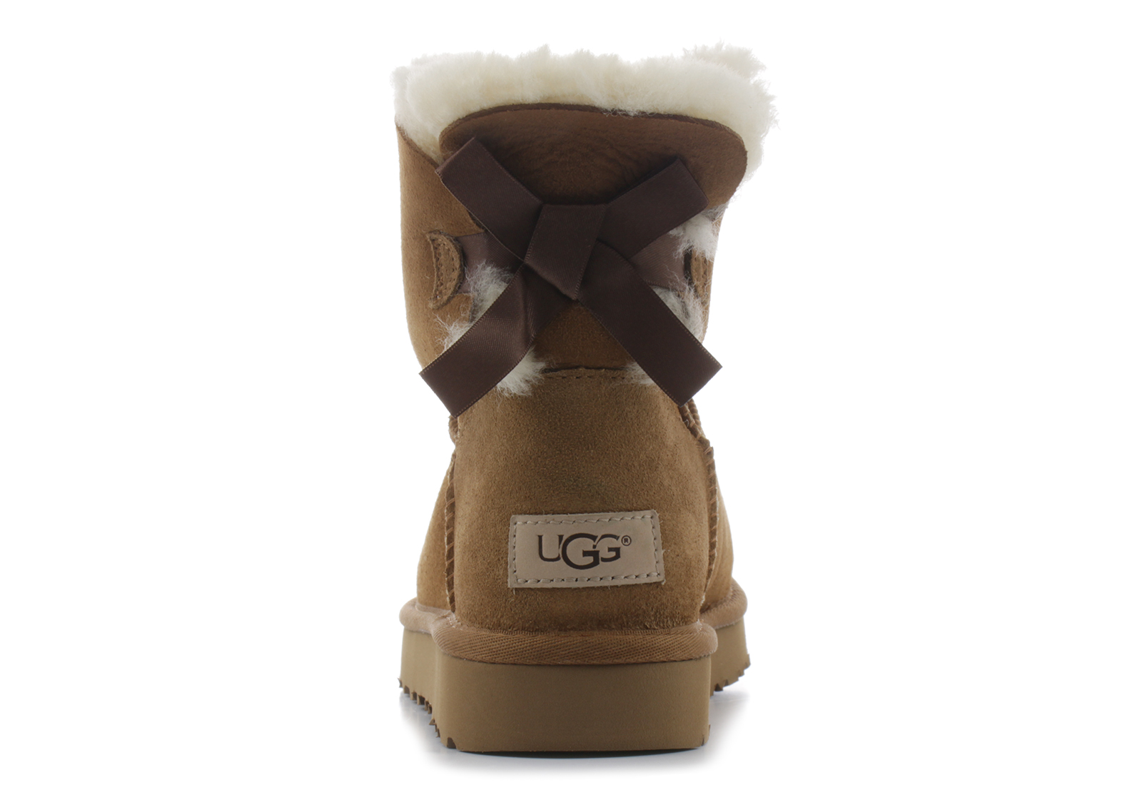 eb840311f2e Ugg Boots - Mini Bailey Bow Ii - 1016501-CHE - Online shop for sneakers,  shoes and boots