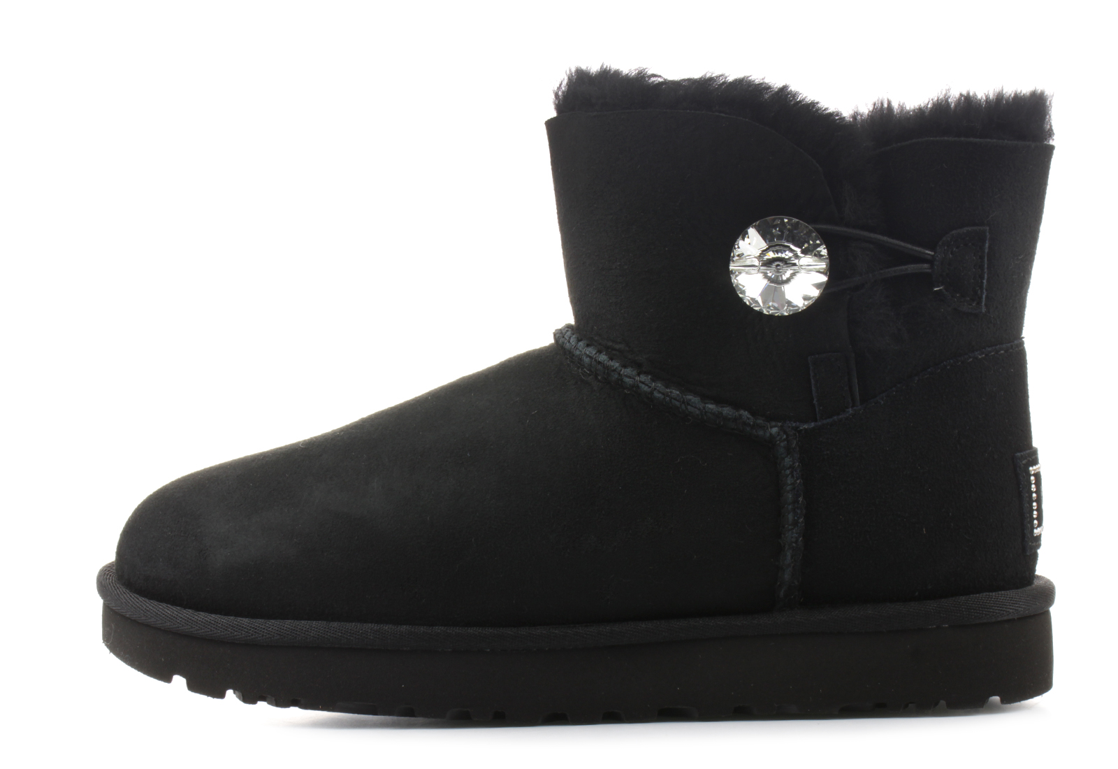 3447c25641f Ugg Boots - Mini Bailey Button Bling - 1016554-BLK - Online shop for  sneakers, shoes and boots