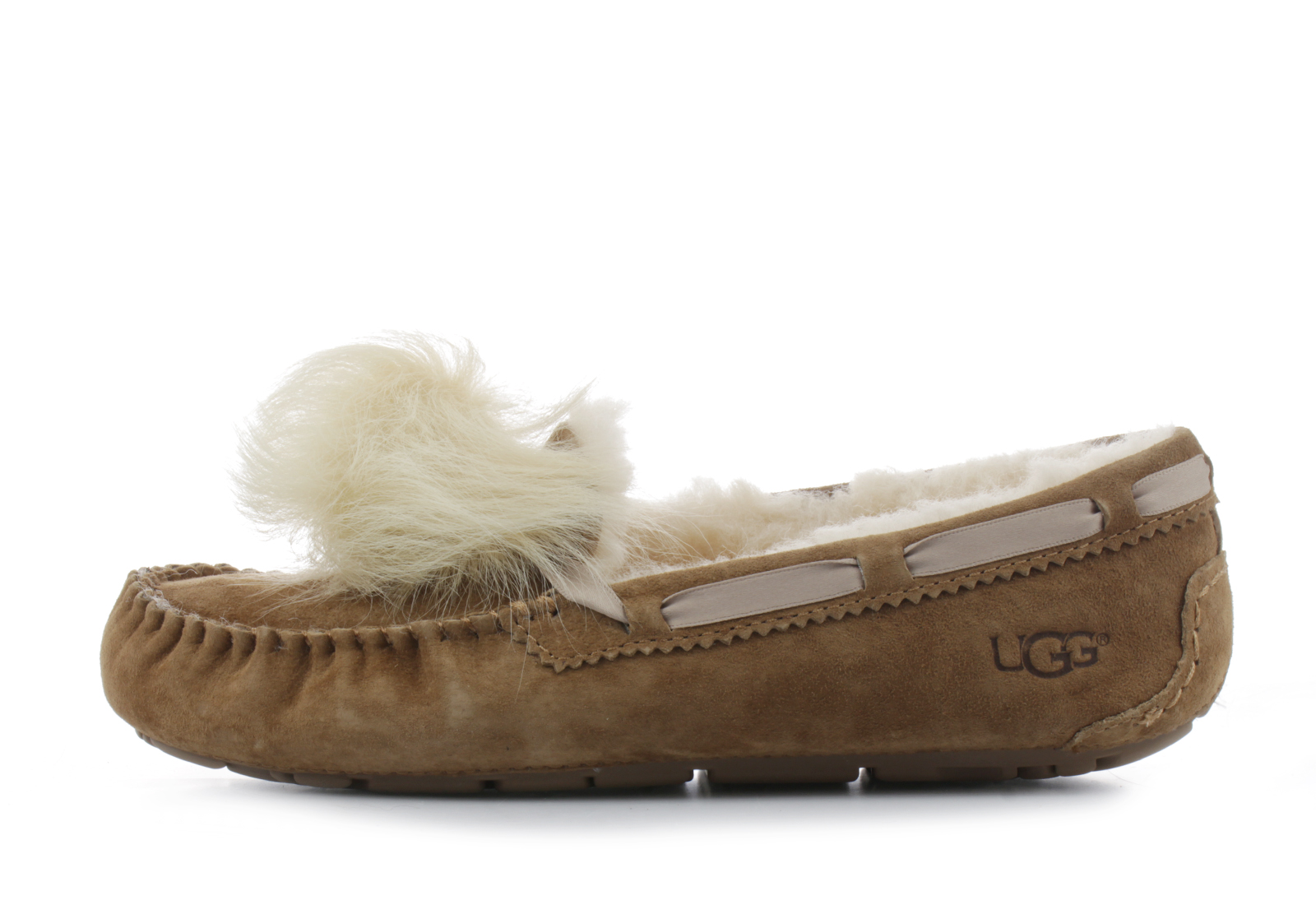 d2ecbdbe705 Ugg Shoes - Dakota Pom Pom - 1019015-CHE - Online shop for sneakers, shoes  and boots