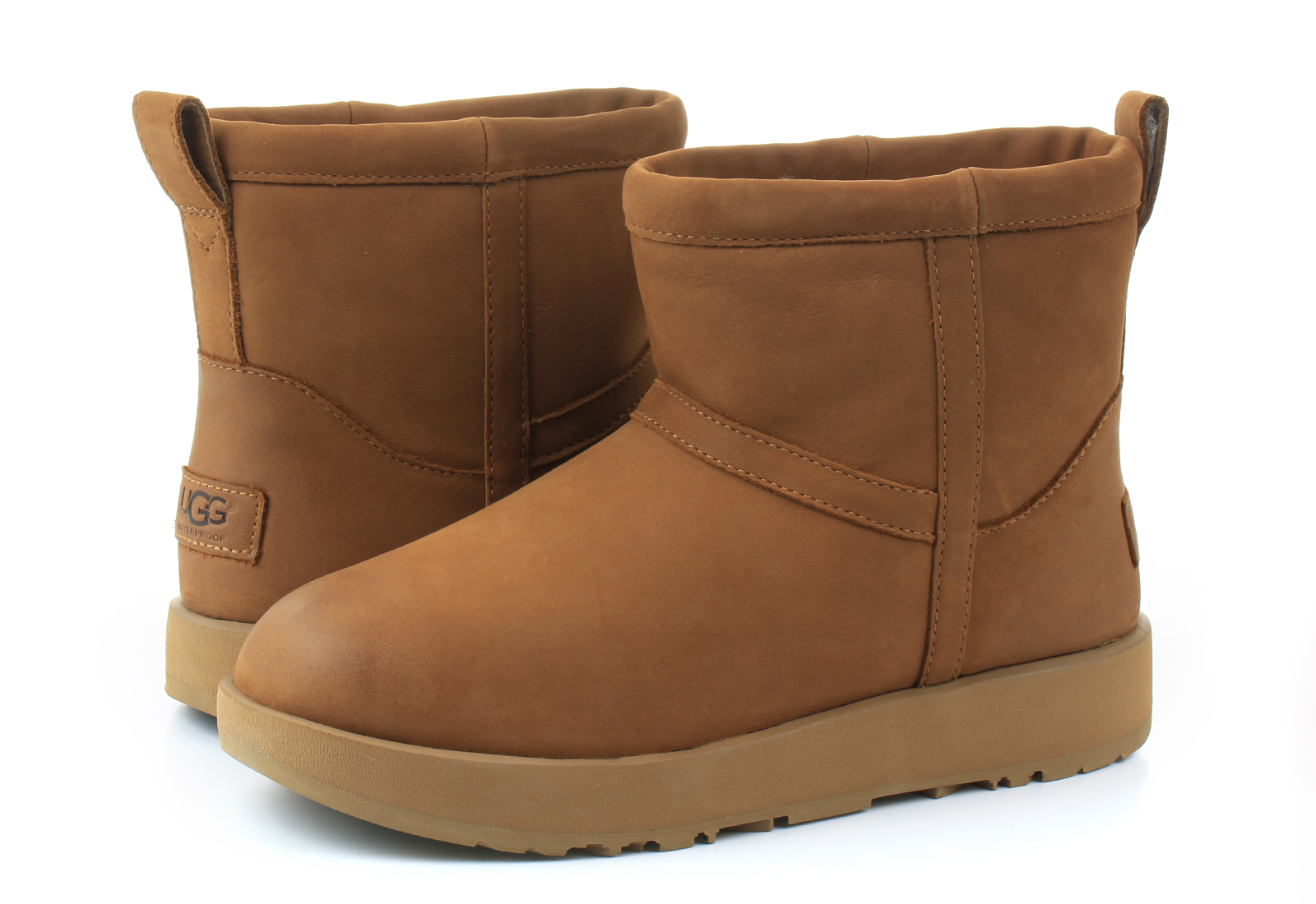 ugg classic mini leather boot
