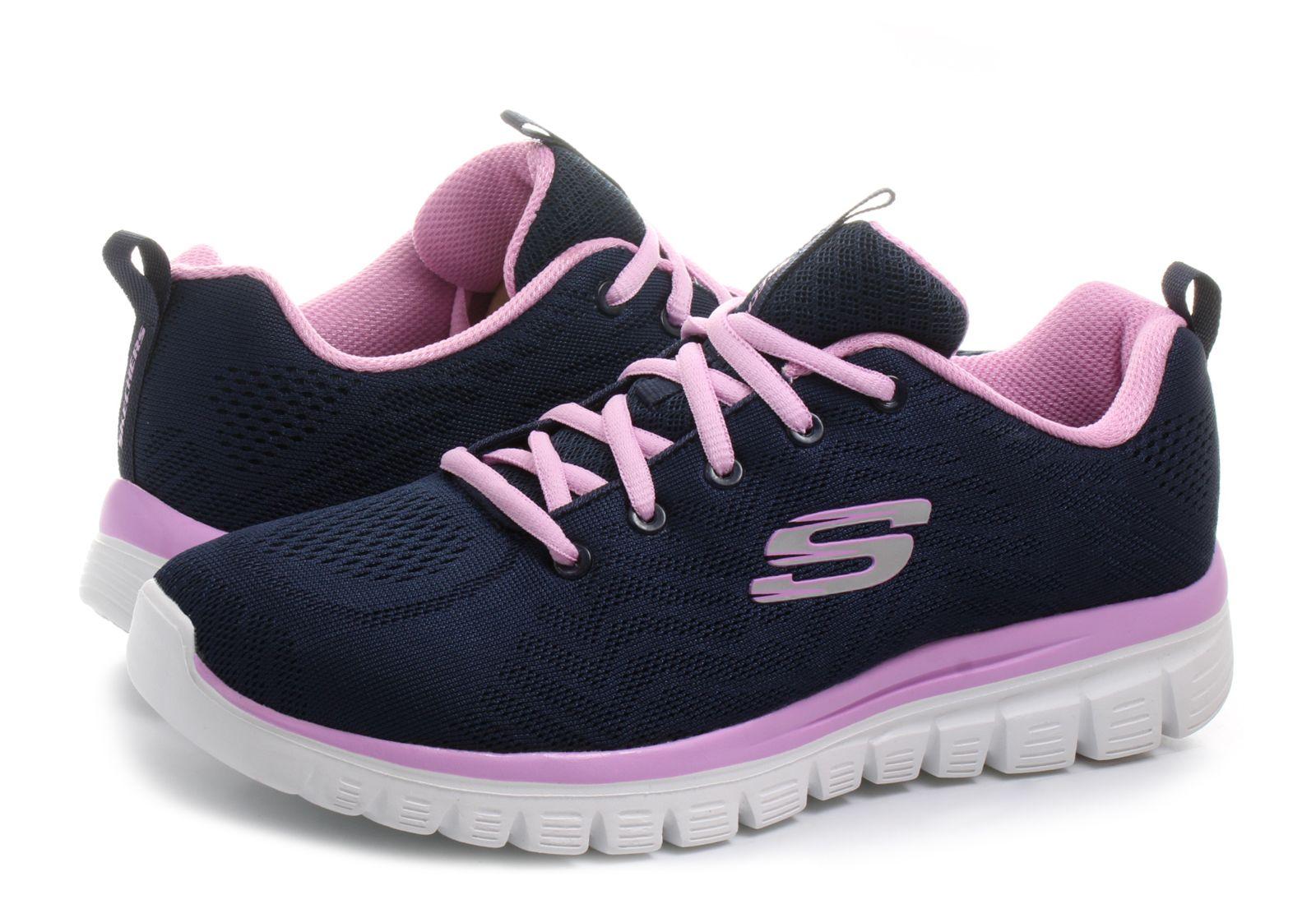 78476ada1a4f Skechers Shoes - Graceful-get Connected - 12615-nvpk - Online shop ...