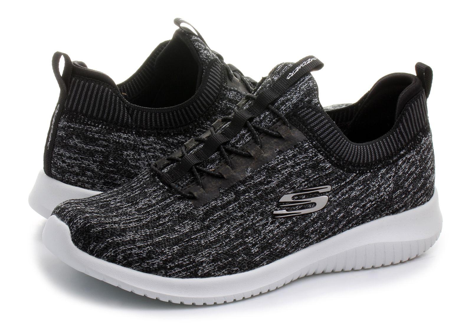 Skechers Shoes Ultra Flex Bright Horizon 12831 Bkgy