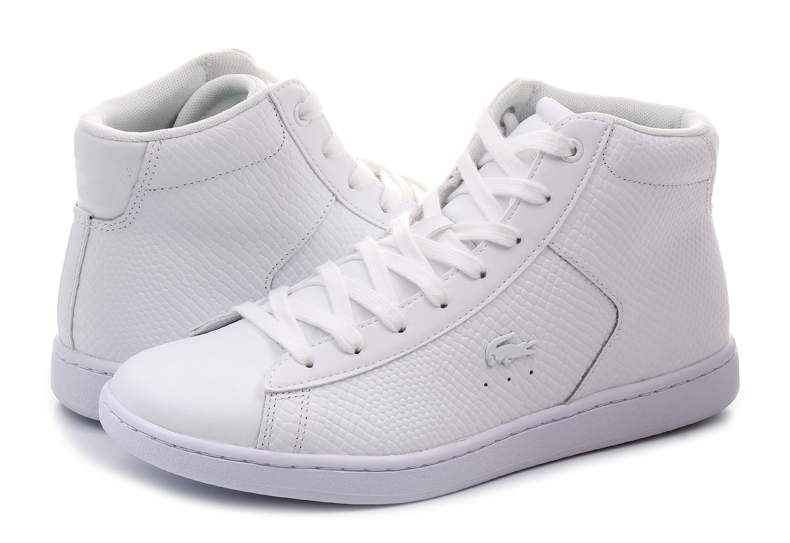 Lacoste Cipő - Carnaby Evo Mid - 173SPW0015-001 - Office Shoes ... 88c6f0e9c4