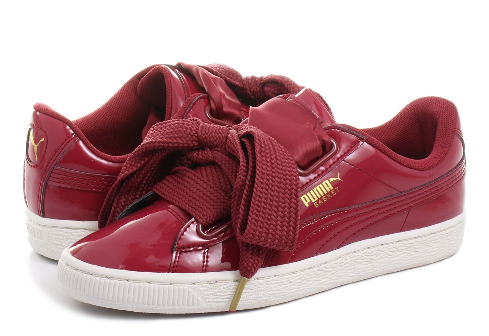 Puma Cipő - Basket Heart Patent Wns - 36307305-red - Office Shoes ... 323ec3784c