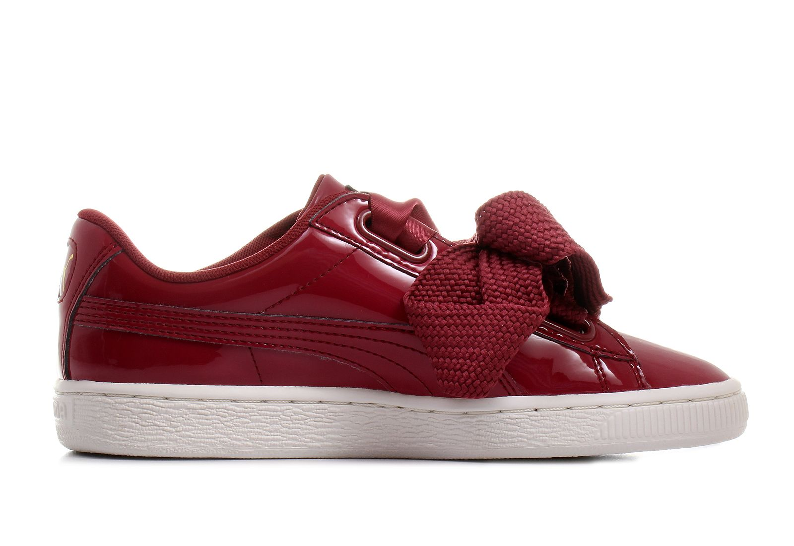 Puma Basket Heart (Patent) Women's Shoes 36307305 Red