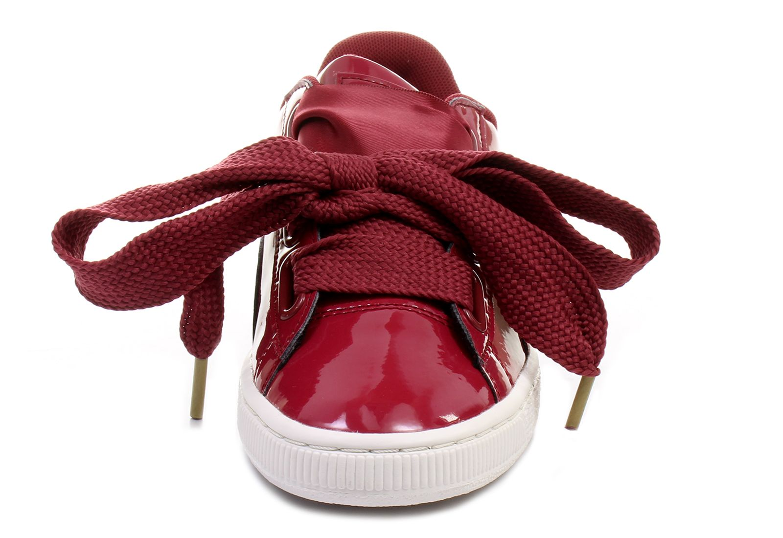 Puma Shoes Basket Heart Patent Wns 36307305 red Online shop for sneakers, shoes and boots