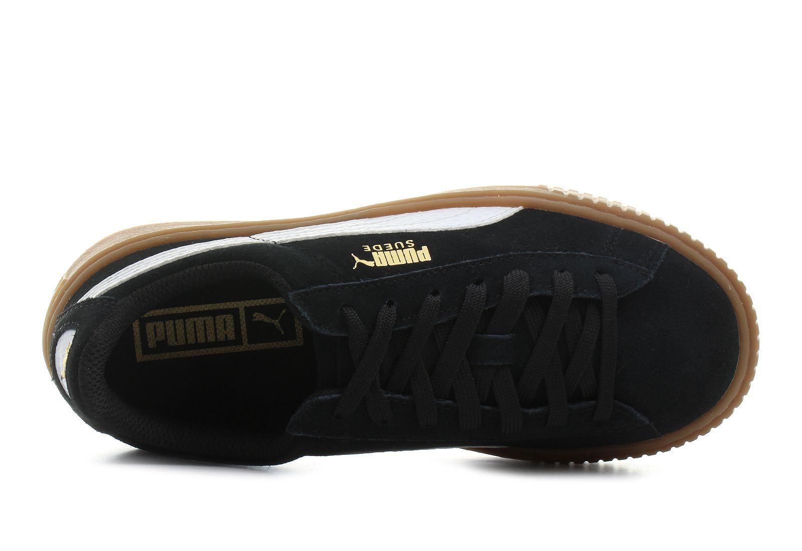 5a27bca4decd Puma Cipő - Suede Platform Snake Jr - 36390602-blk - Office Shoes ...