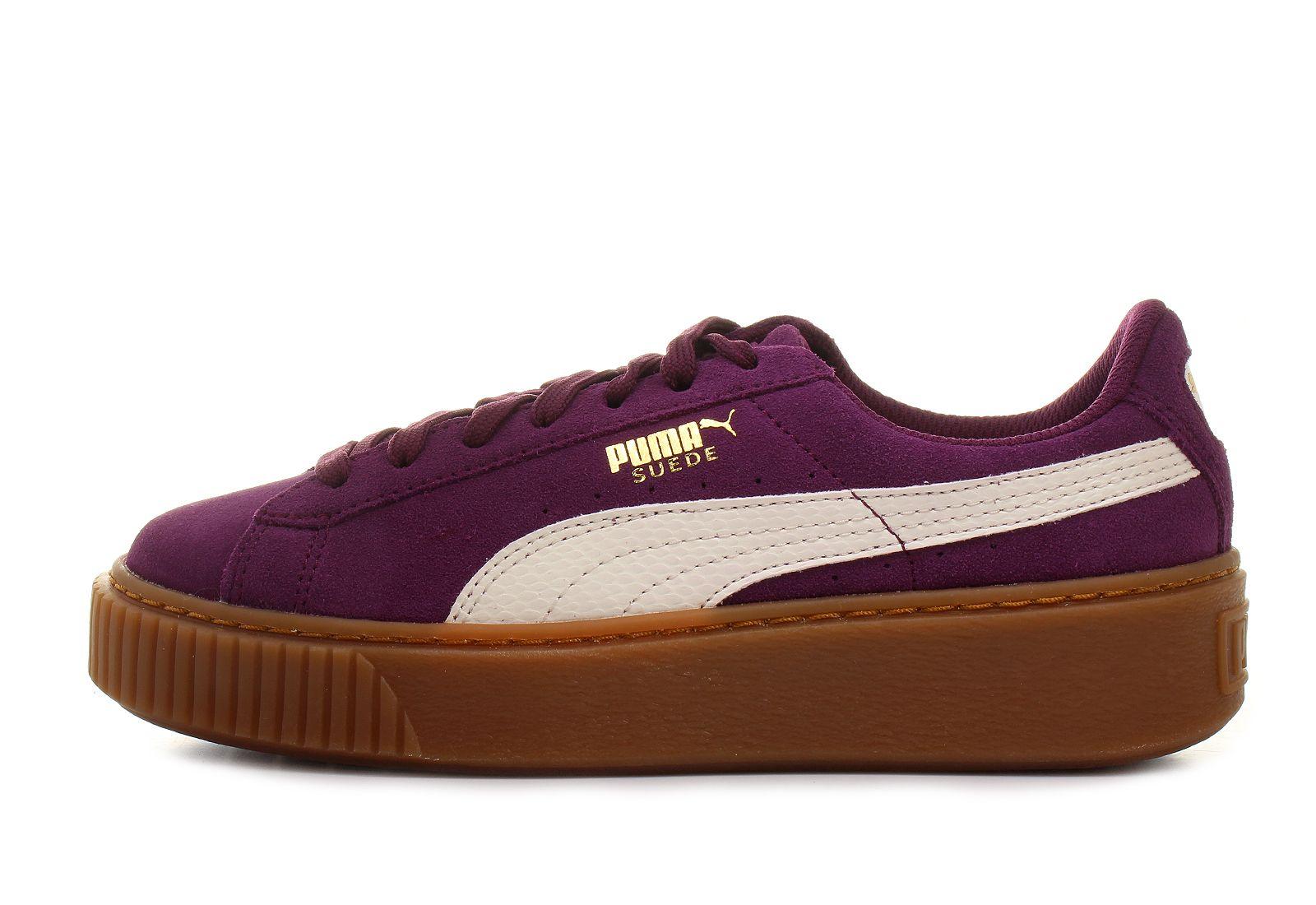 puma shoes suede platform snake jr 36390603 pur. Black Bedroom Furniture Sets. Home Design Ideas