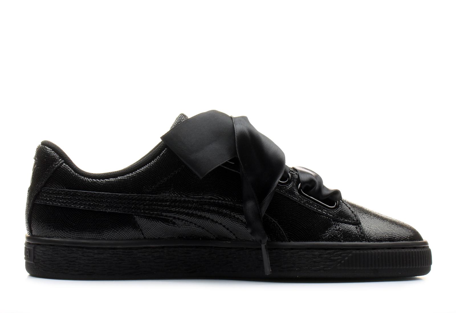 puma basket czarne