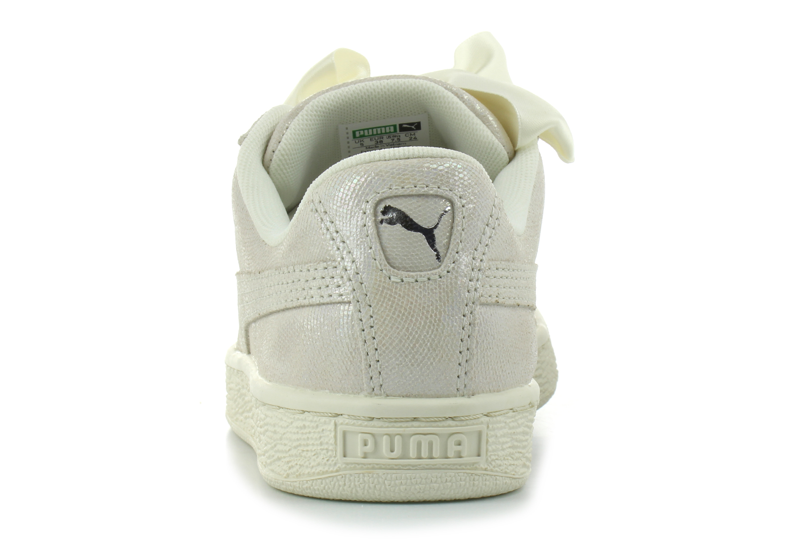 9e53dd0aab83 Puma Cipő - Basket Heart Ns Wns - 36410802-wht - Office Shoes ...