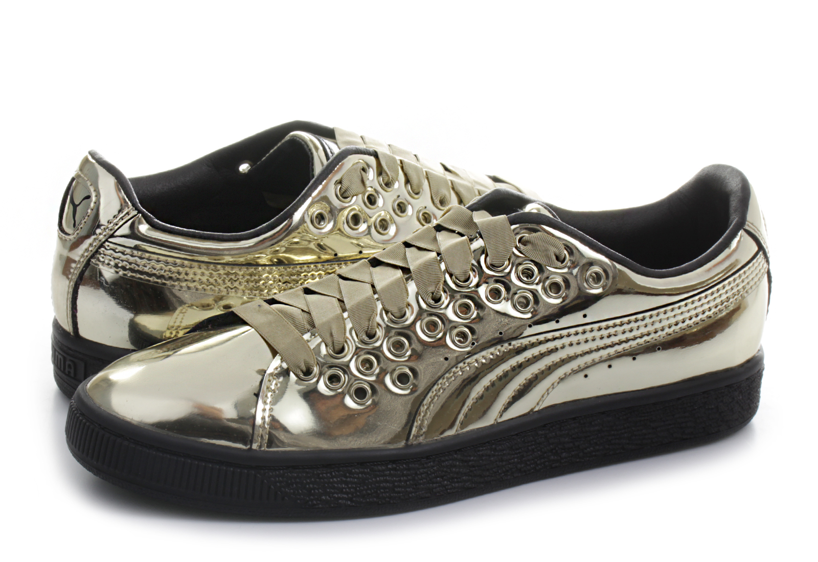 Puma Cipő - Basket Xl Lace Select Womens - 36453603-gld - Office ... d565274402