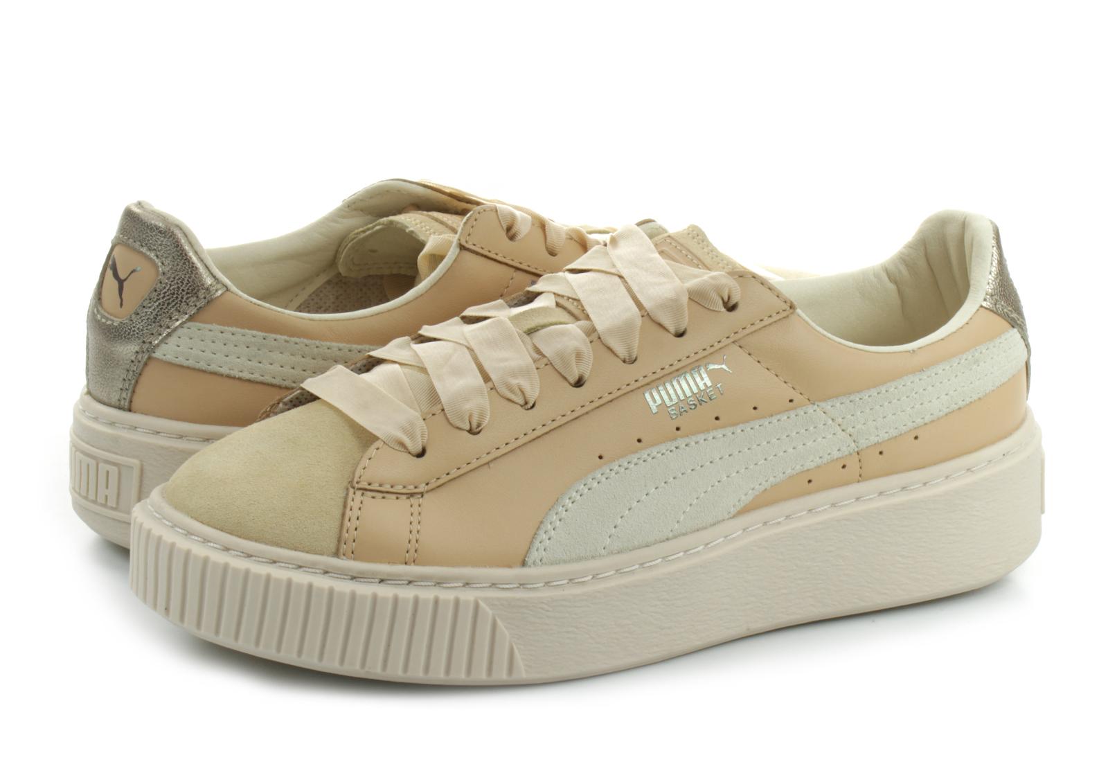 ab40934270ef Puma Shoes - Puma Platform Prem Wns - 36493401-nat - Online shop ...