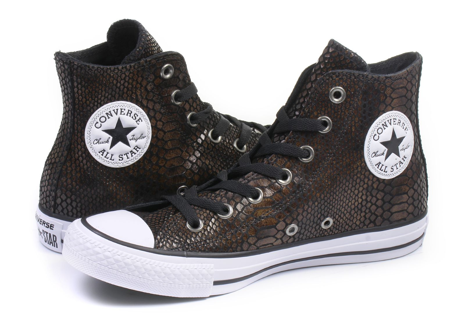52913822517e Converse Sneakers - Chuck Taylor All Star Animal Print Leather ...