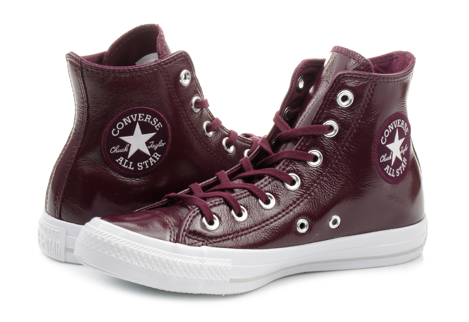 Step Vans For Sale >> Converse Sneakers - Ct As Patent Leather - 557939C - Online shop for sneakers, shoes and boots