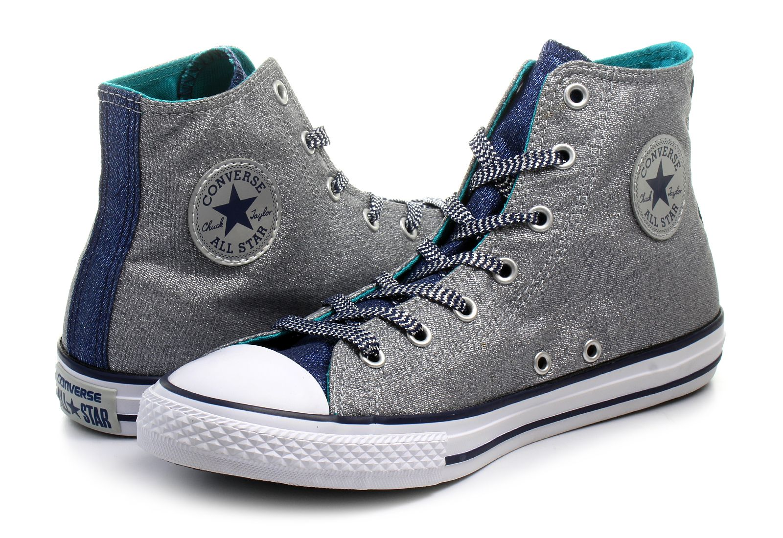 aecd276476156 Converse Trampki - Chuck Taylor All Star Shimmer - 658062C - Obuwie ...