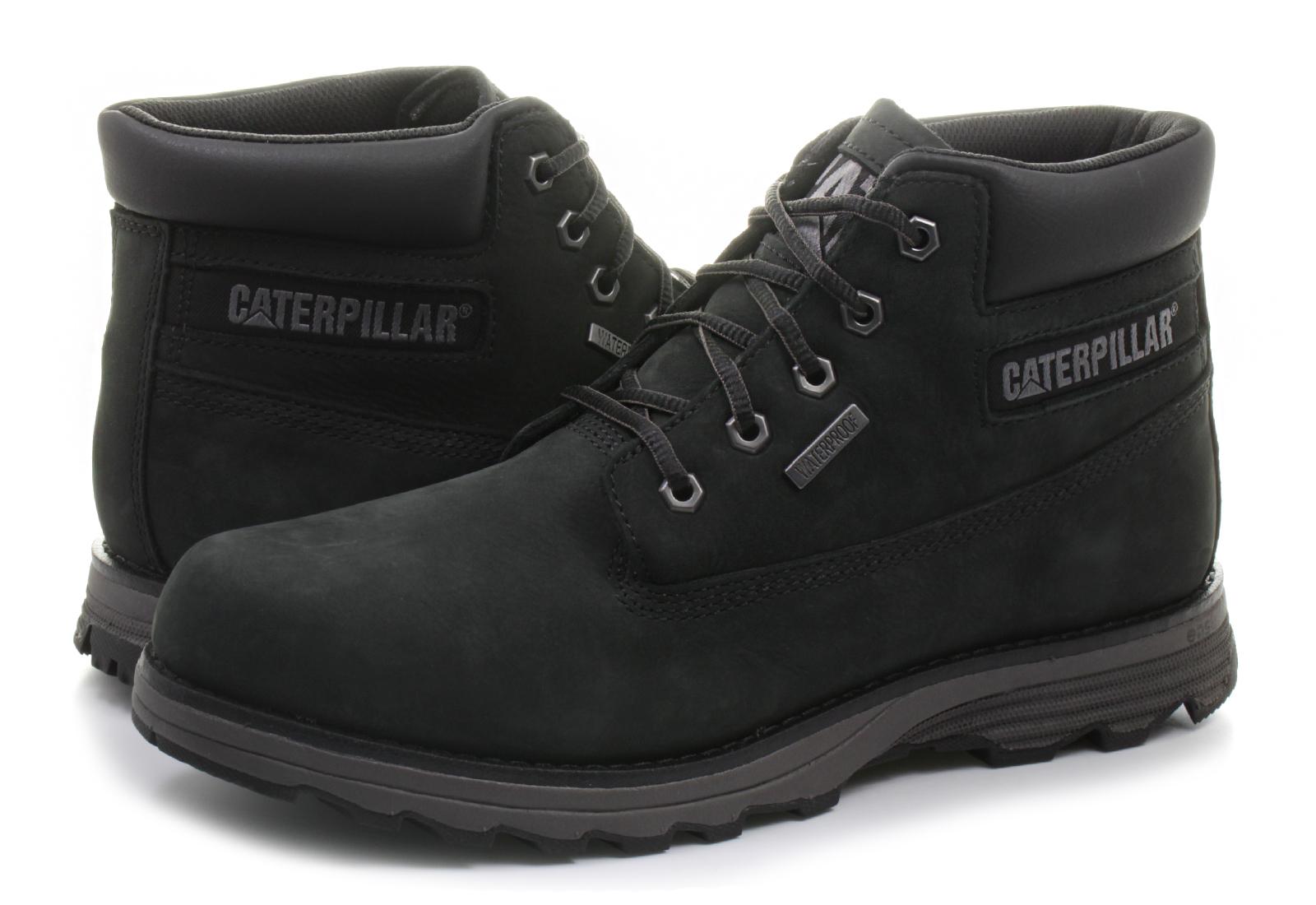 Cat Bakancs - Founder Waterproof - 721592-blk - Office Shoes ... 53b52f664f