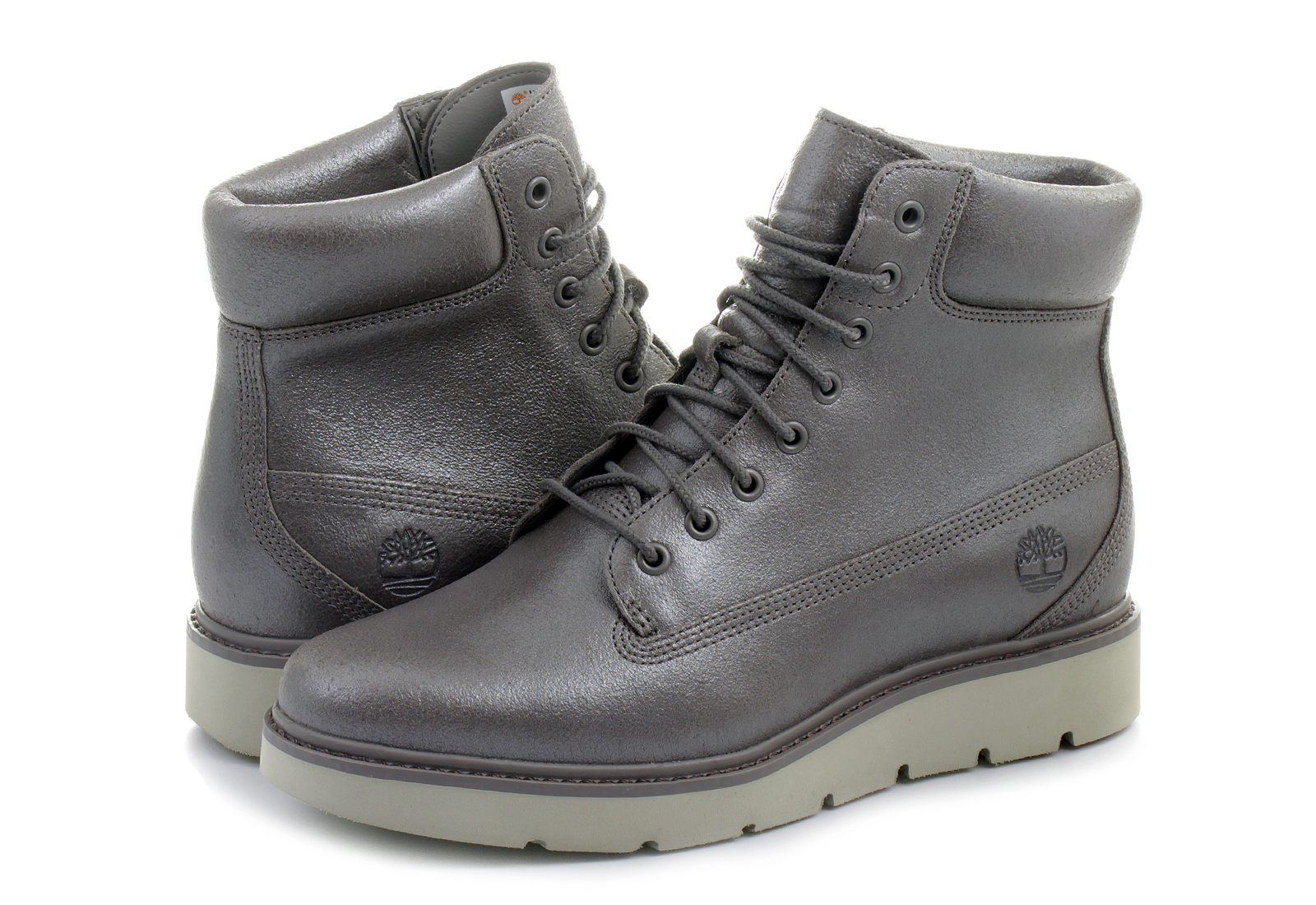 Timberland Topánky - Kenniston 6in Lace - a1irn-gry - Tenisky ... 7d72f6f9902