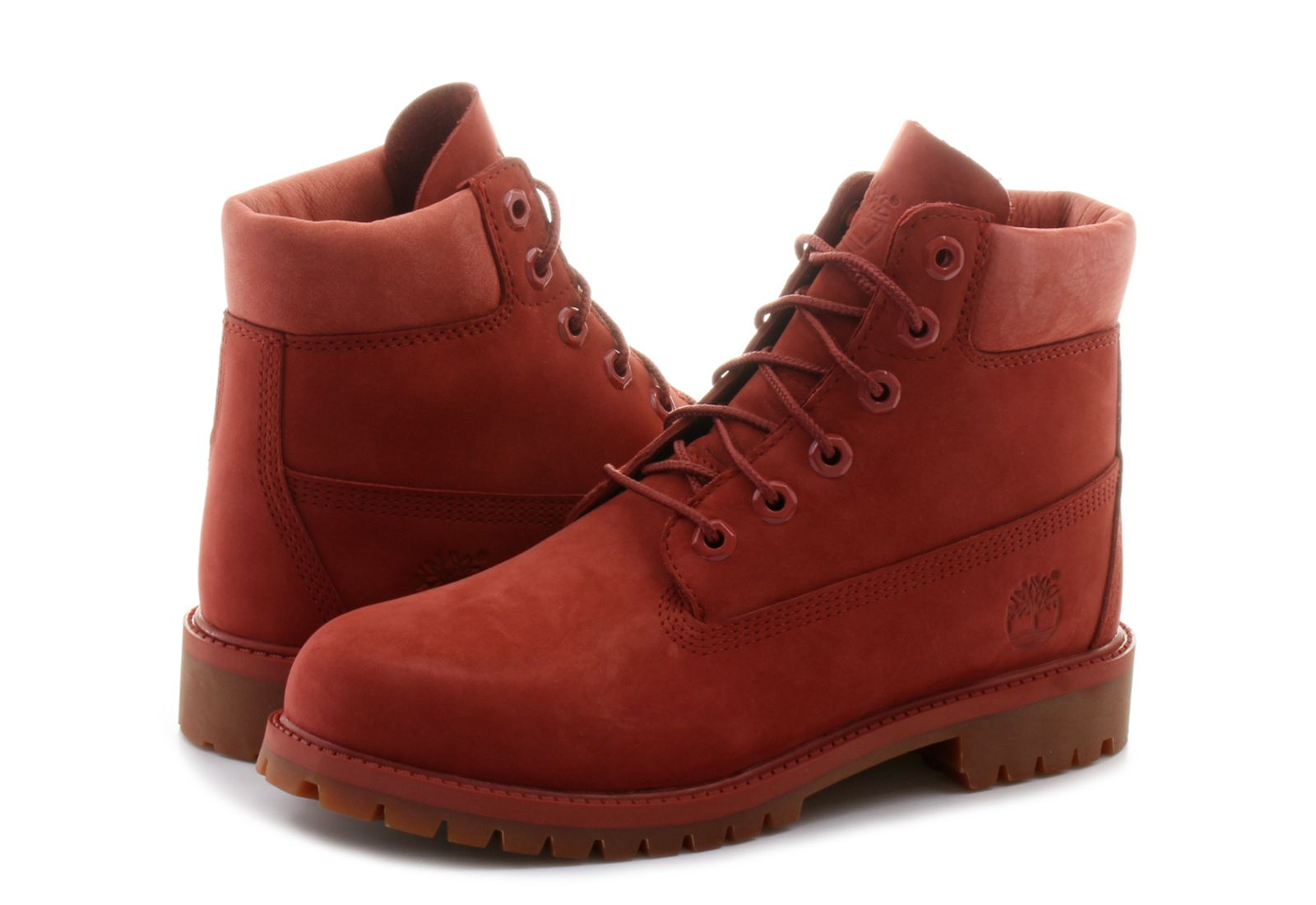 Timberland Topánky - 6 Inch Prem Boot - A1KPH-red - Tenisky ... ff49a619b17