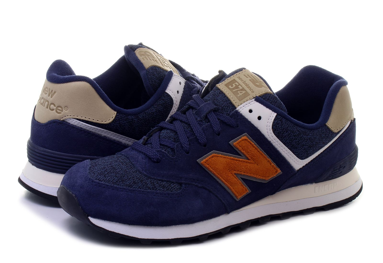 new balance 574 blue vak