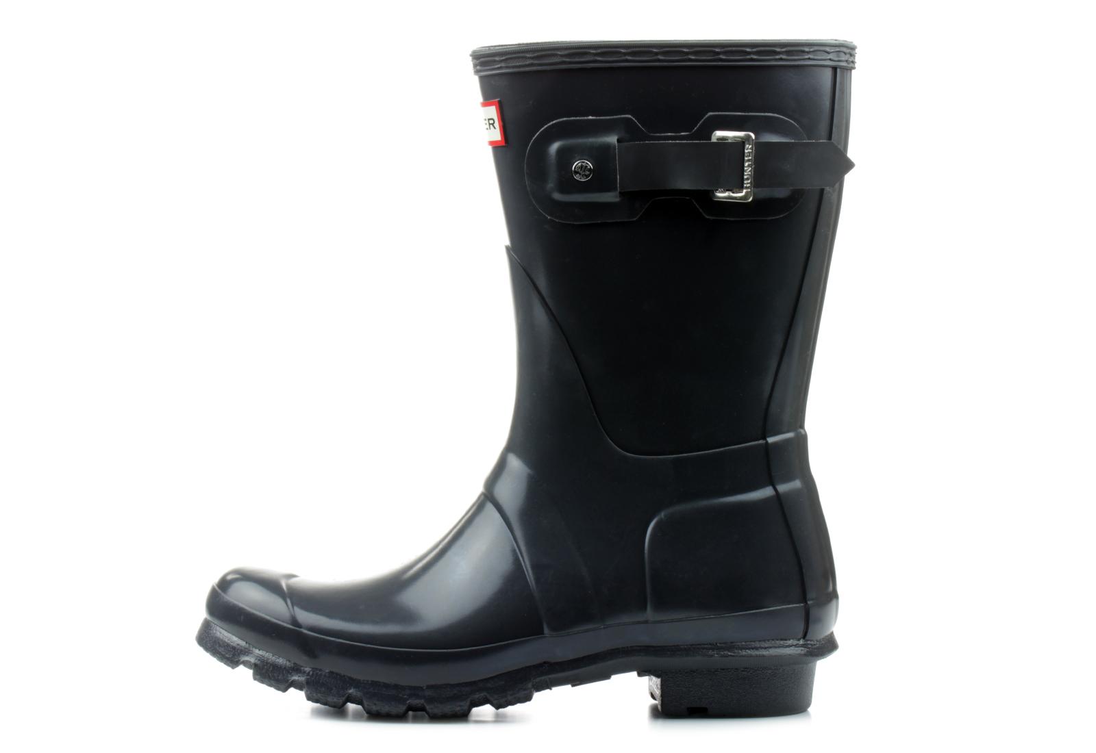 Hunter Rain Boots - Womens Original Short Gloss - S1000Rgl -5842